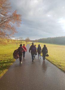 VHS Reutlingen - St. Johann Lach-Spaziergang durch den Wald @ Schützenhaus,  Bleichstetten