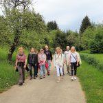 kleine Lachwanderung Metzingen bei Reutlingen Sylvia Bauer